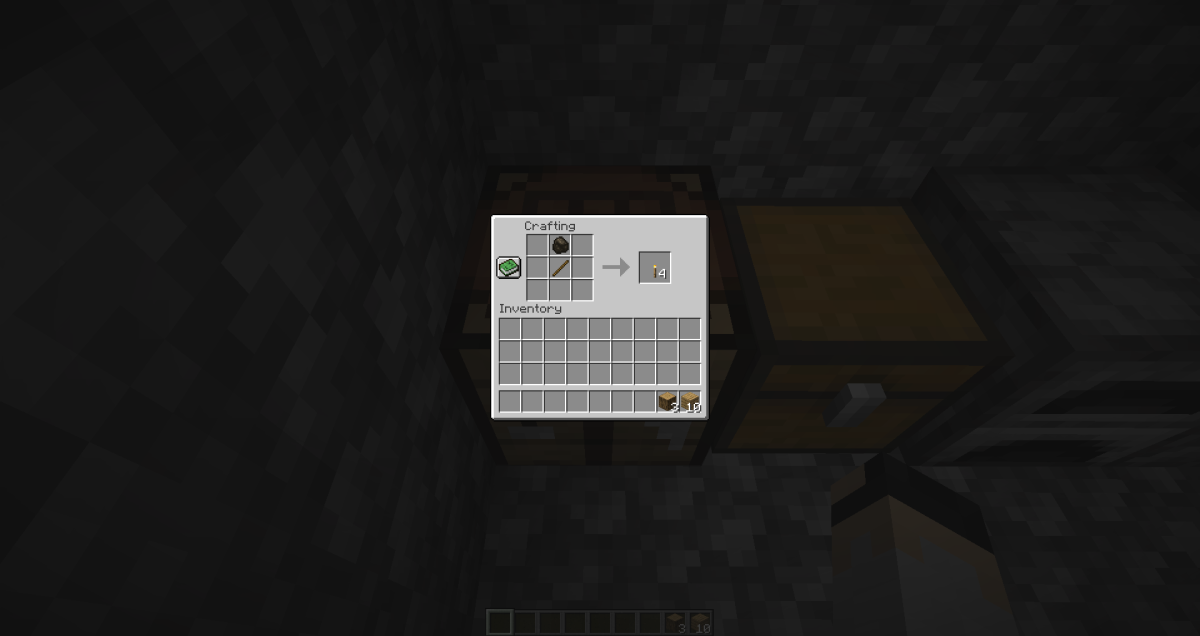Torches keep hostile mobs from spawning in lit areas at night.