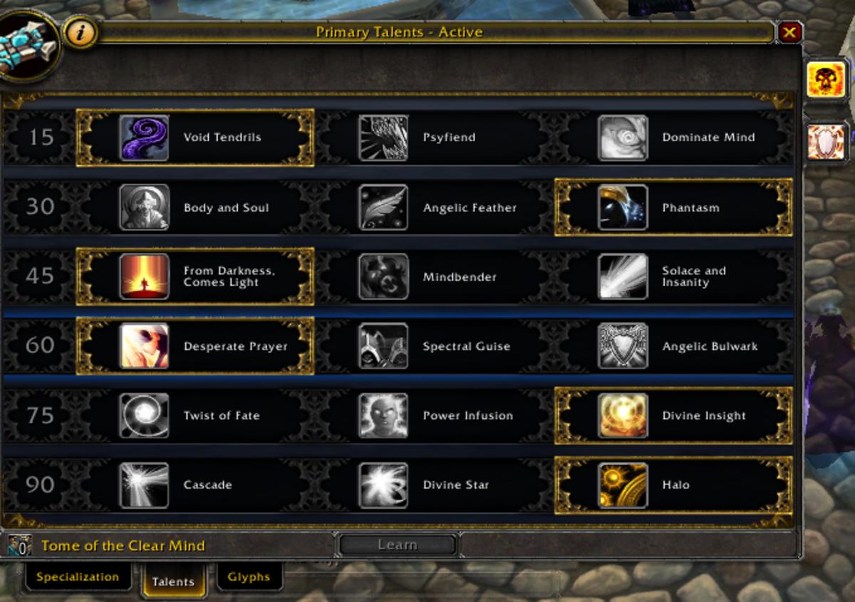 """World of Warcraft"" Talents"