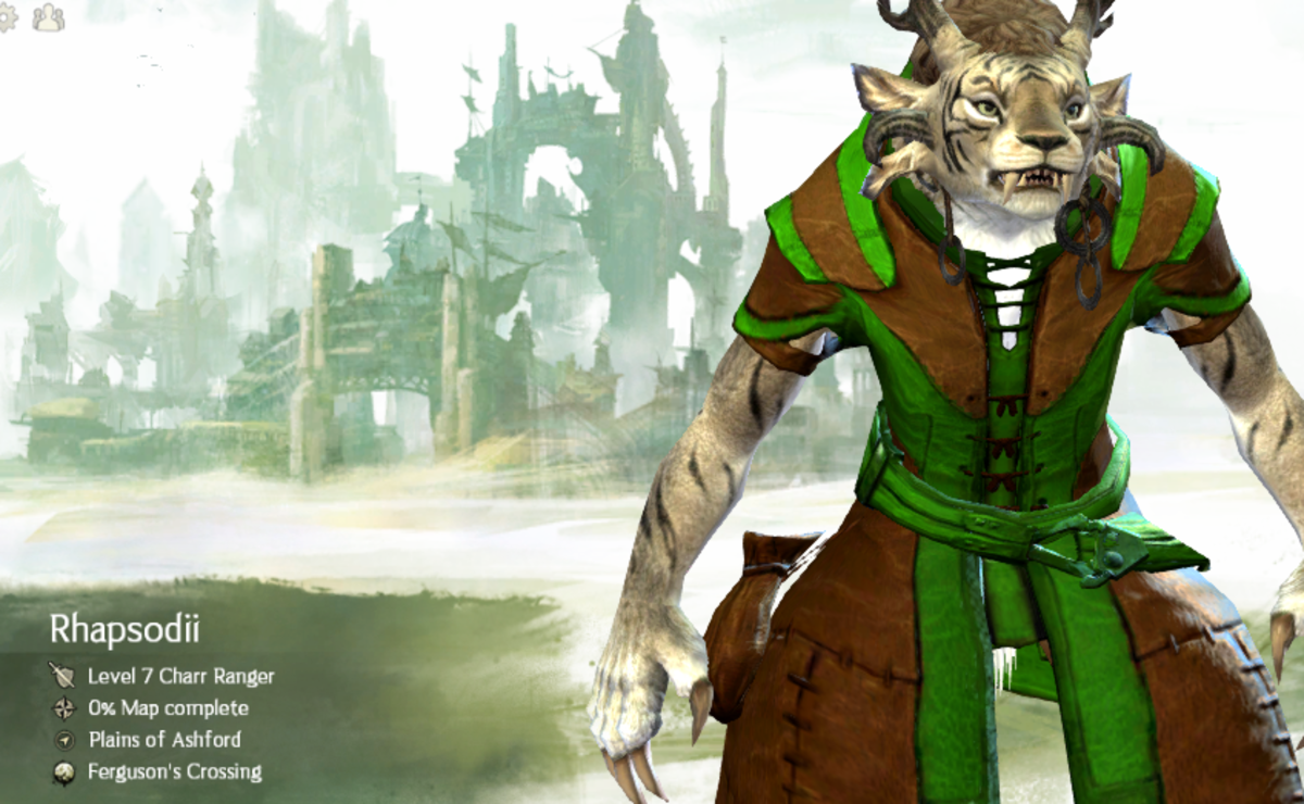 Guild Wars 2 ranger