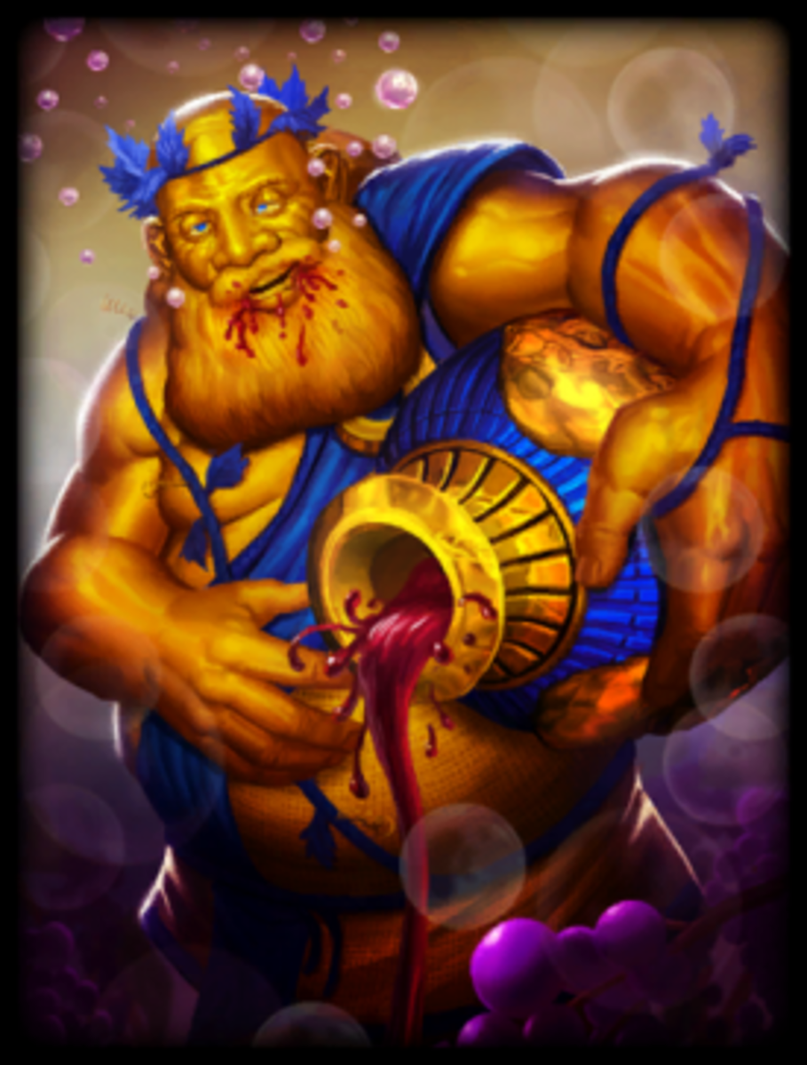 Golden Bacchus