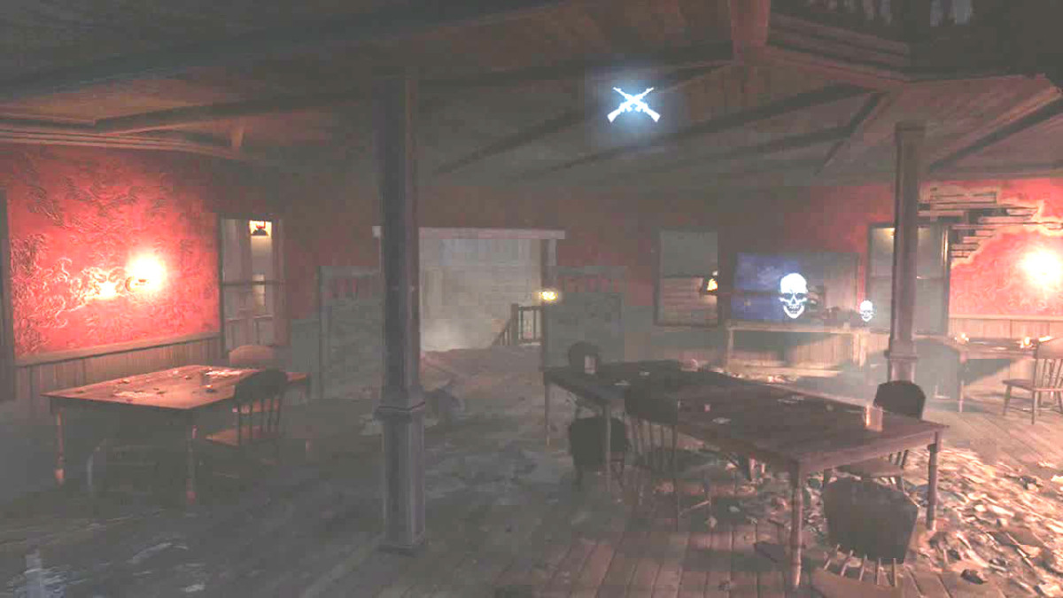There is a Building Station in the Saloon.
