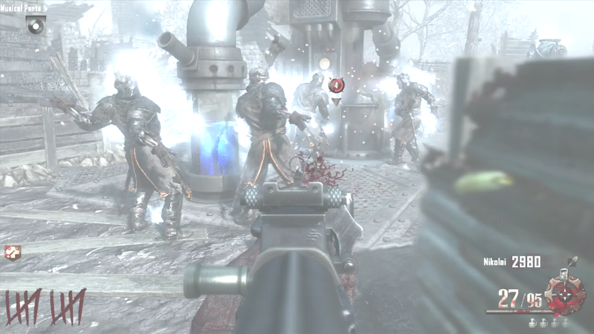 The Templar Zombies will try to take the Generator back down by attacking it.
