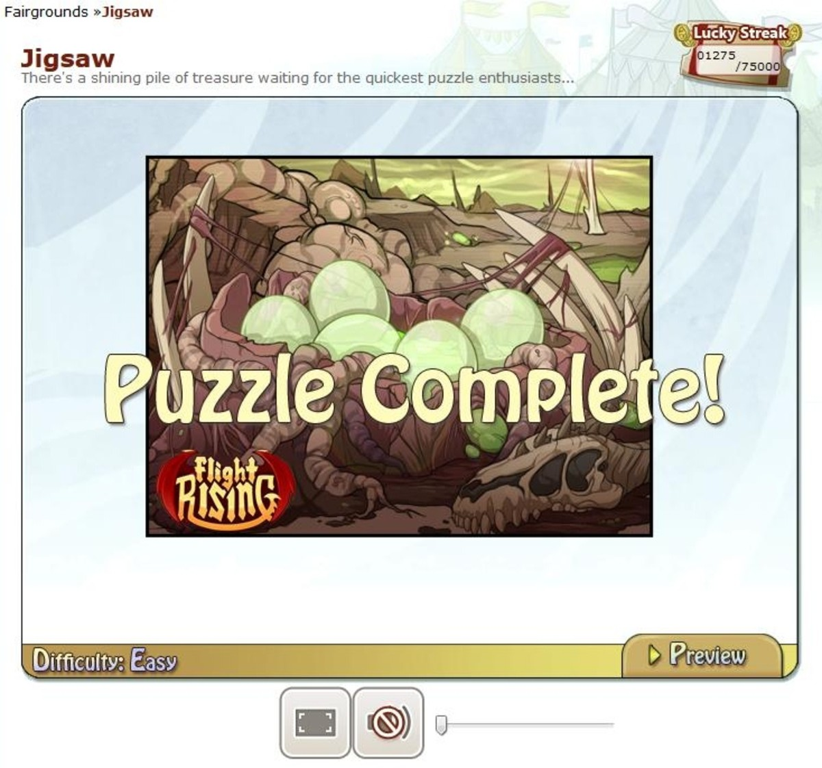 Jigsaw is a fun game for all ages and features gorgeous Flight Rising artwork.