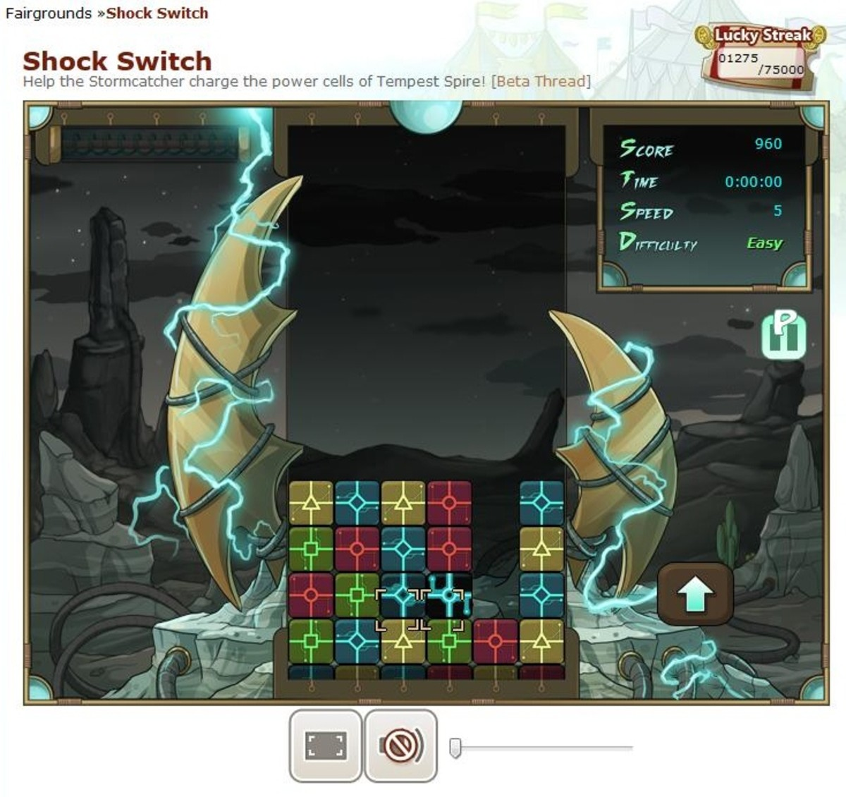 Shock Switch is great for players who like fast-paced games with payout.