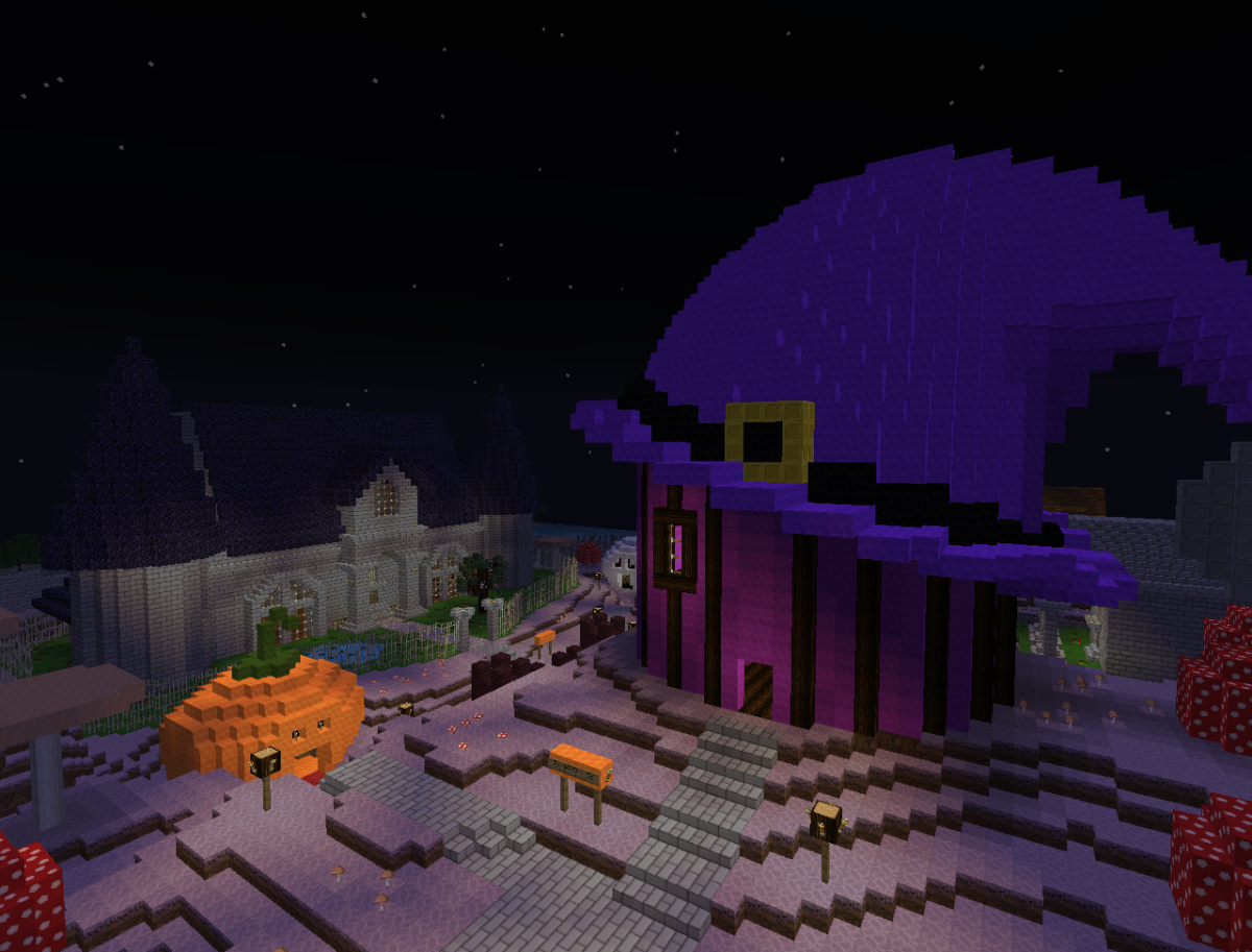 Games like Minecraft have downloadable content related to Halloween.