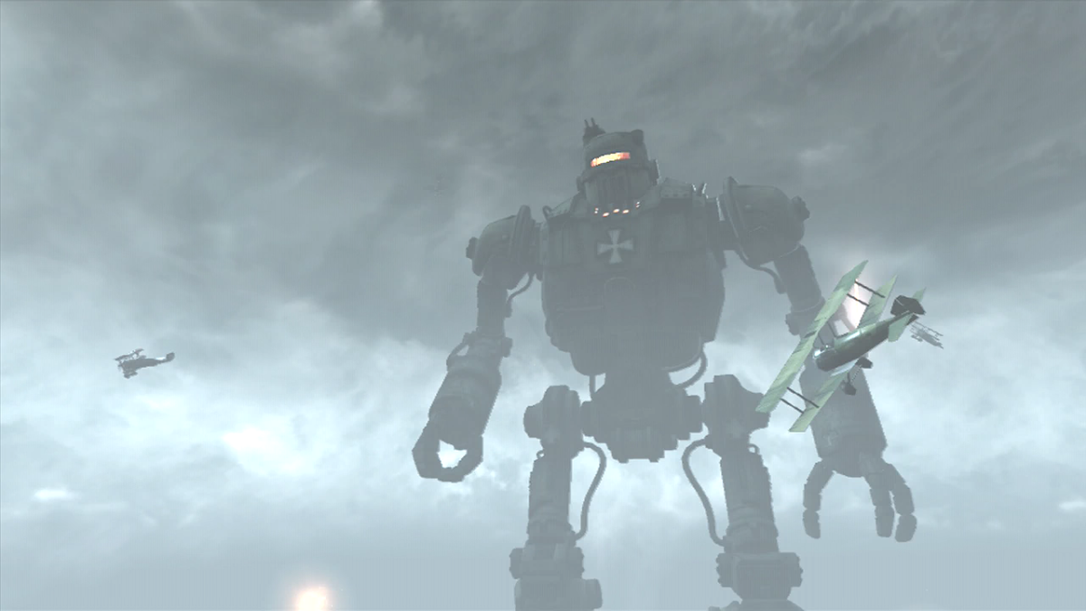 Oden, one of the Giant Robots in Origins.