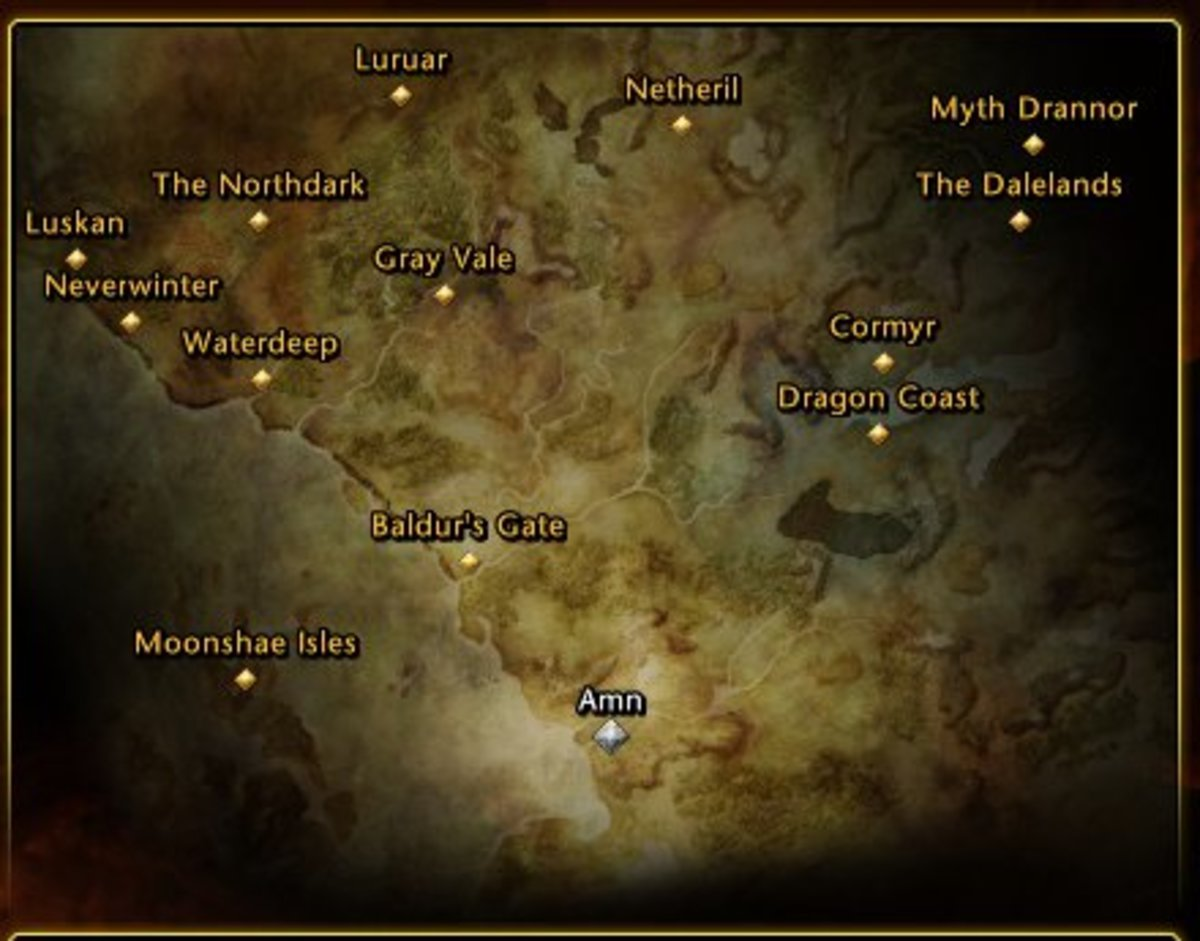 Neverwinter Map