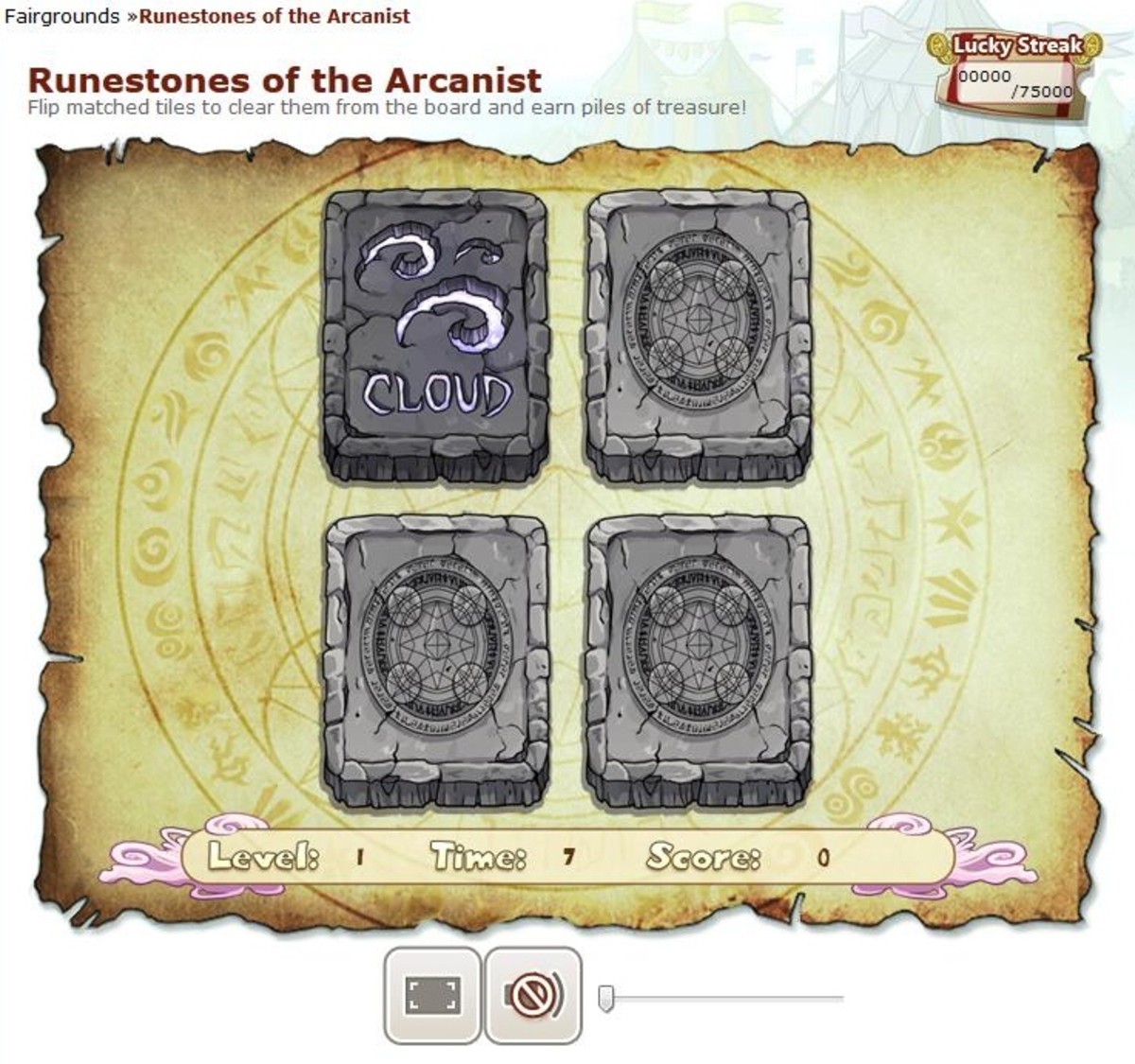 Runestones is a great game to play to earn lots of treasure in minimal time.