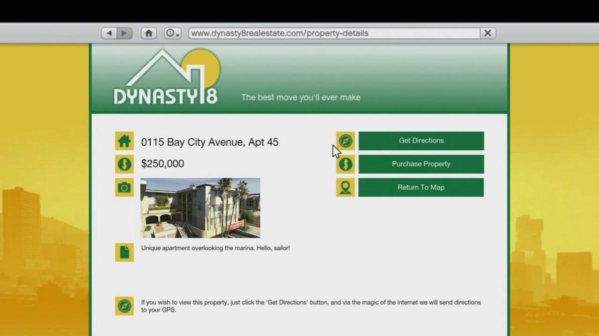 """Real Estate in """"GTA V"""""""