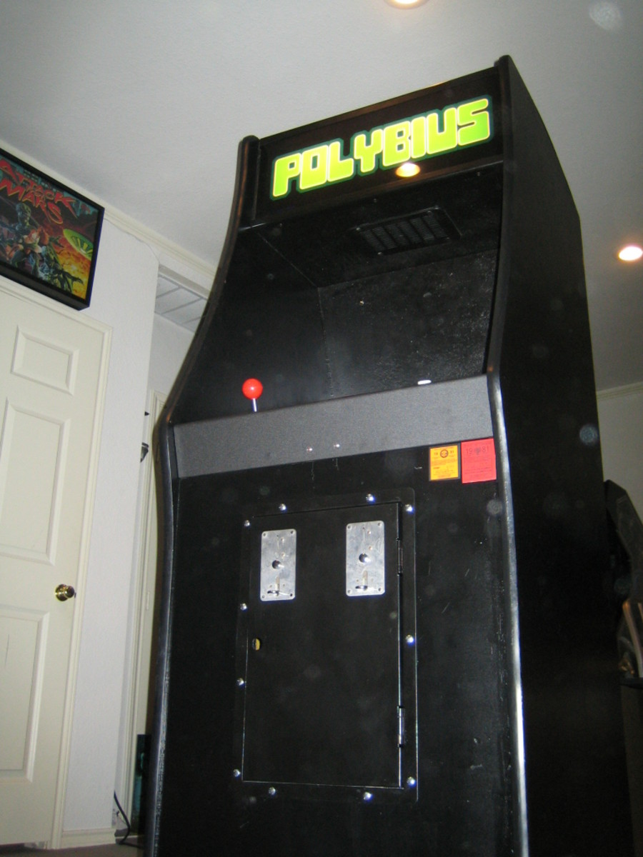 Recreation of Polybius Cabinet