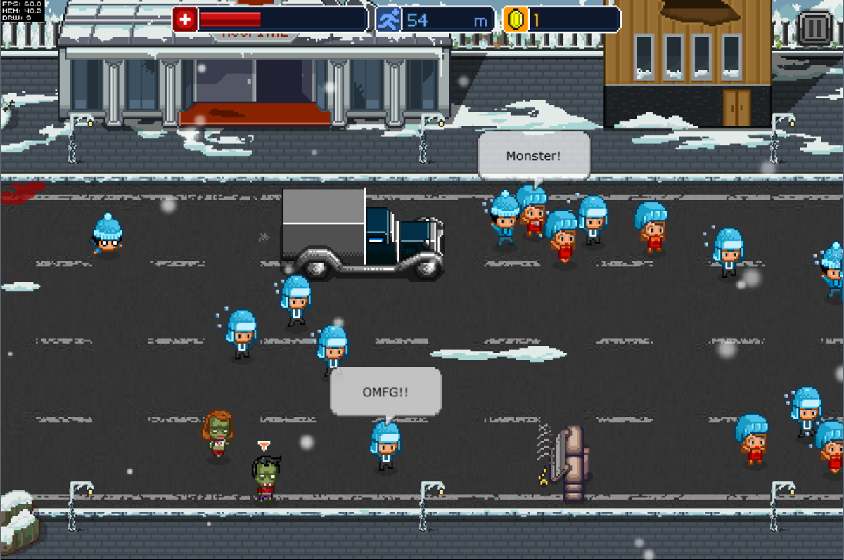 8-Bit Zombies Can be Scary At Times
