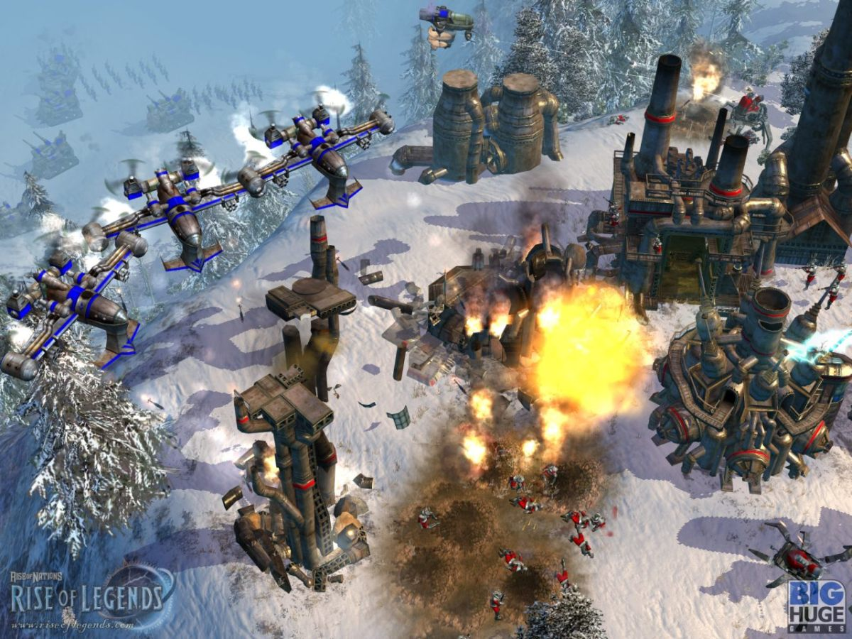 Image from Rise of Nations: Rise of Legends.