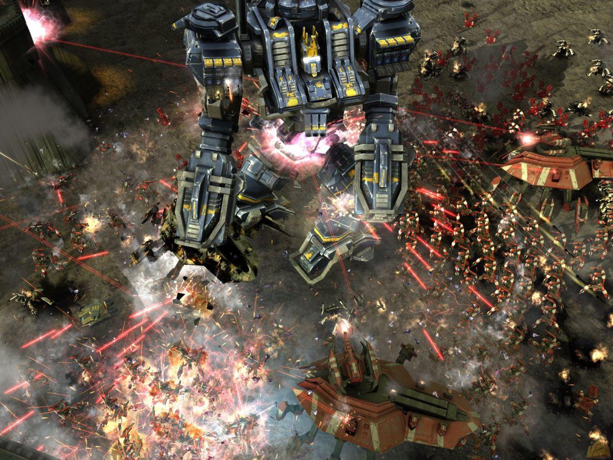 Image gameplay in Supreme Commander 2.