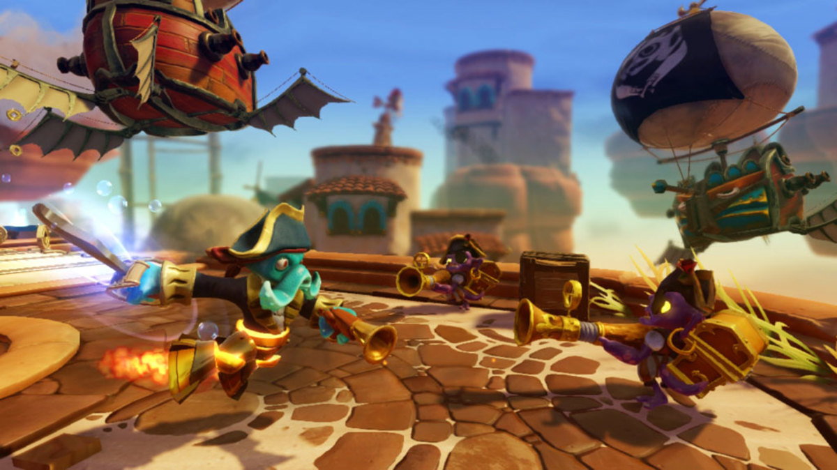 """Skylanders: SWAP Force"" Screenshot"