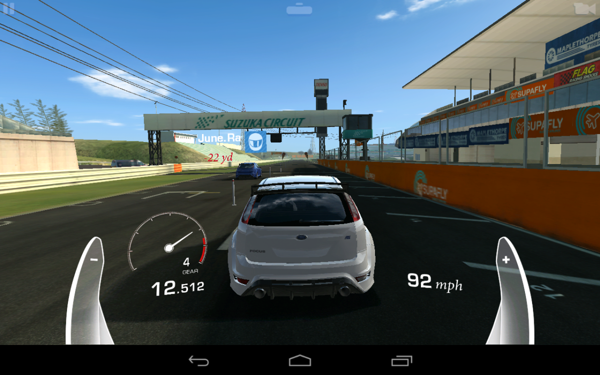 Drag Racing, with Ford Focus RS