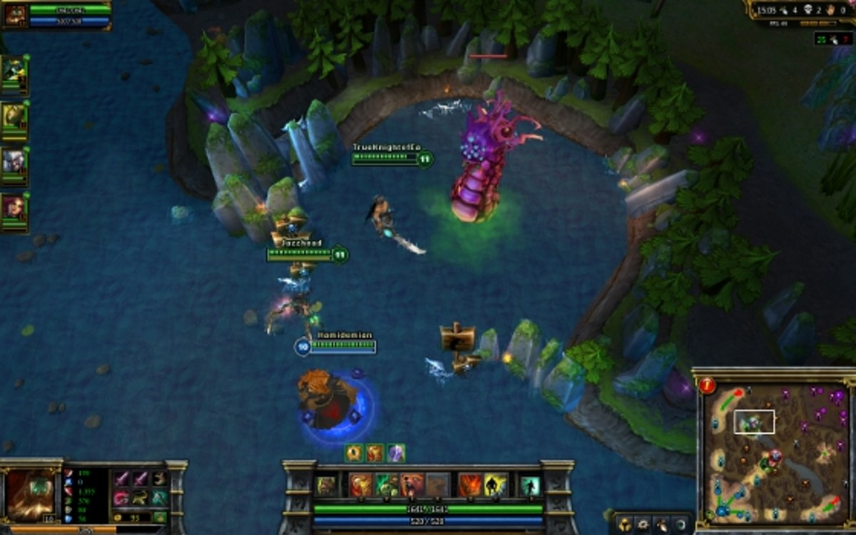 Baron Nashor screenshot, League of Legends, copyright Riot Games, Inc.
