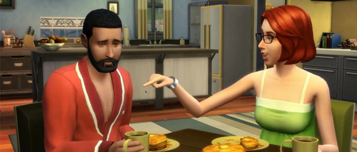 This Sim is feeling depressed, one of many new emotions your Sim can feel in the game.