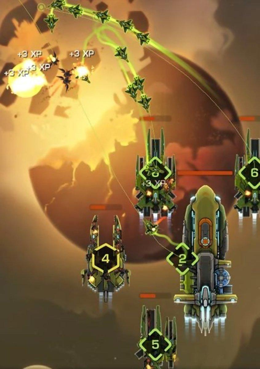 Strike Fleet Omega