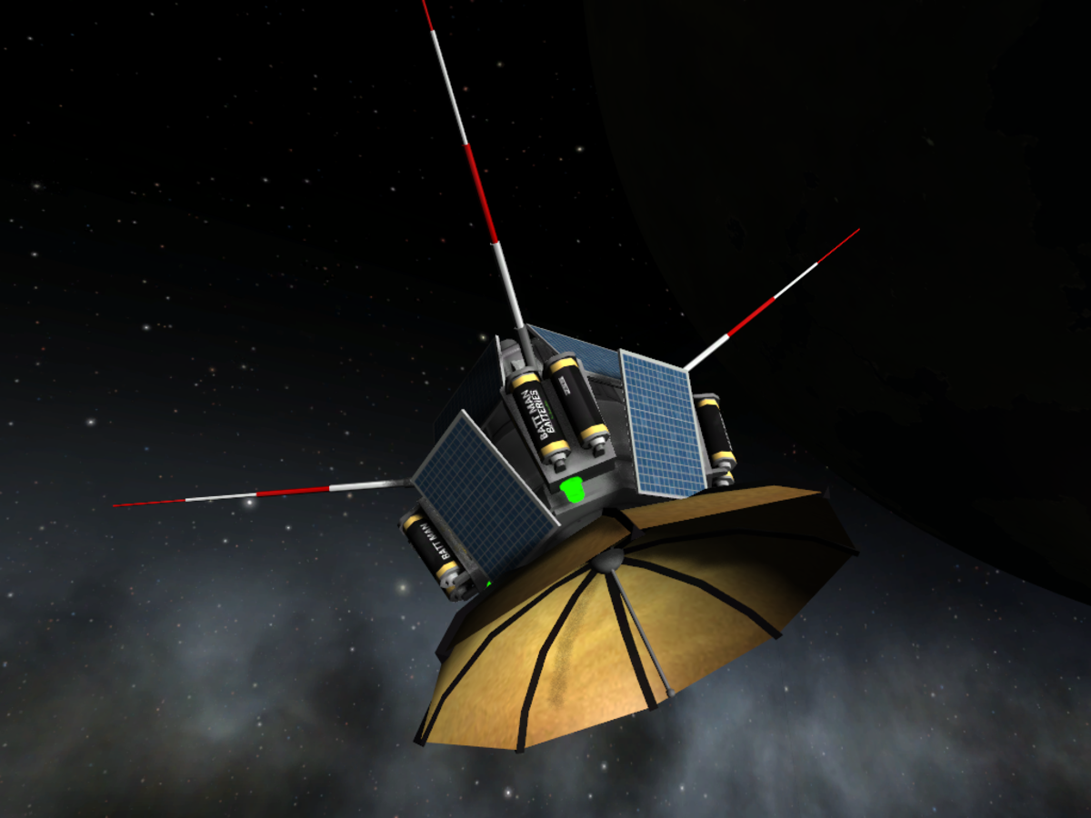 A satellite in orbit ( you can build them but they have the most use with certain mods)