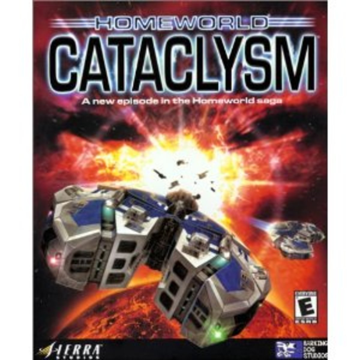 Homeworld Cataclysm - by Barking Dog Studios and published by Sierra Entertainment