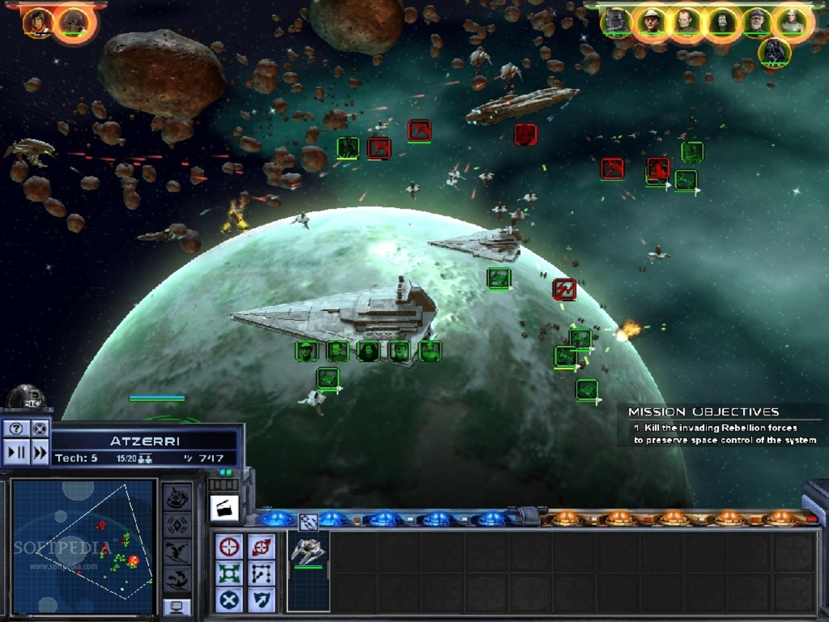 General Space Battle and Interface