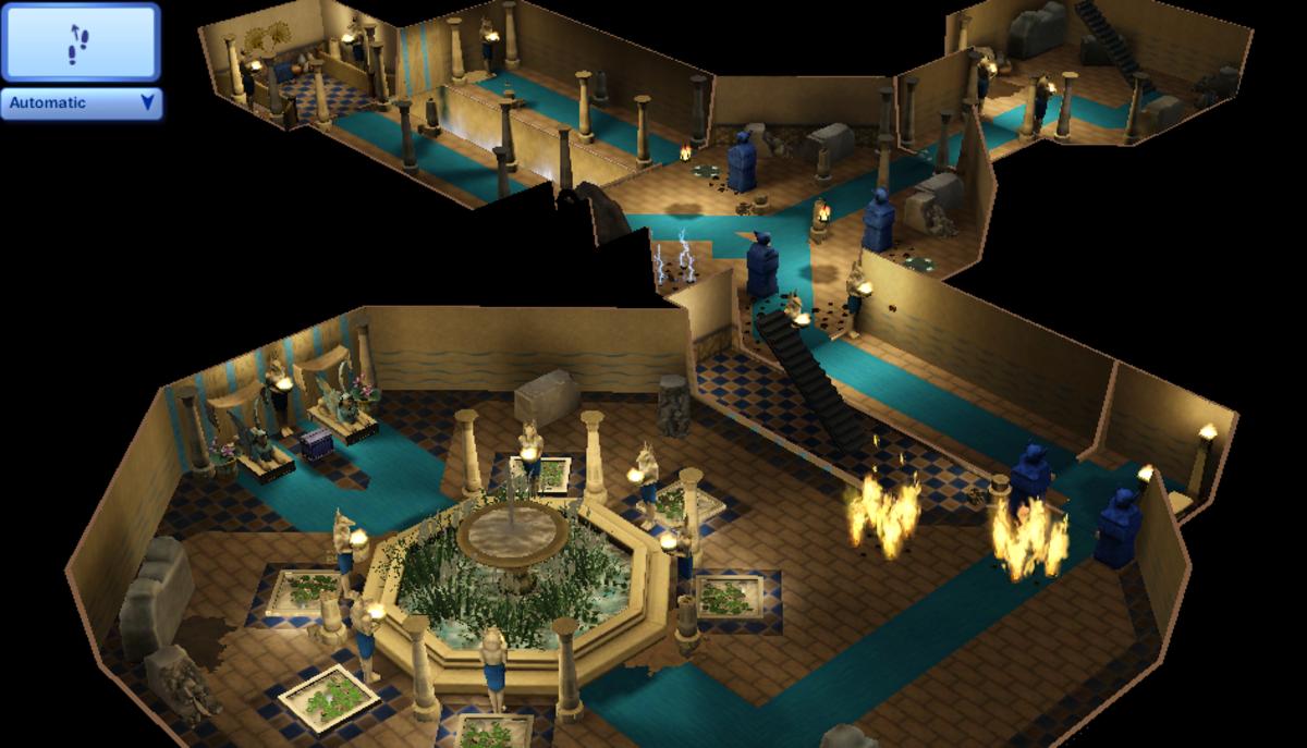 The finale floor of the Tomb of the Desert Ocean