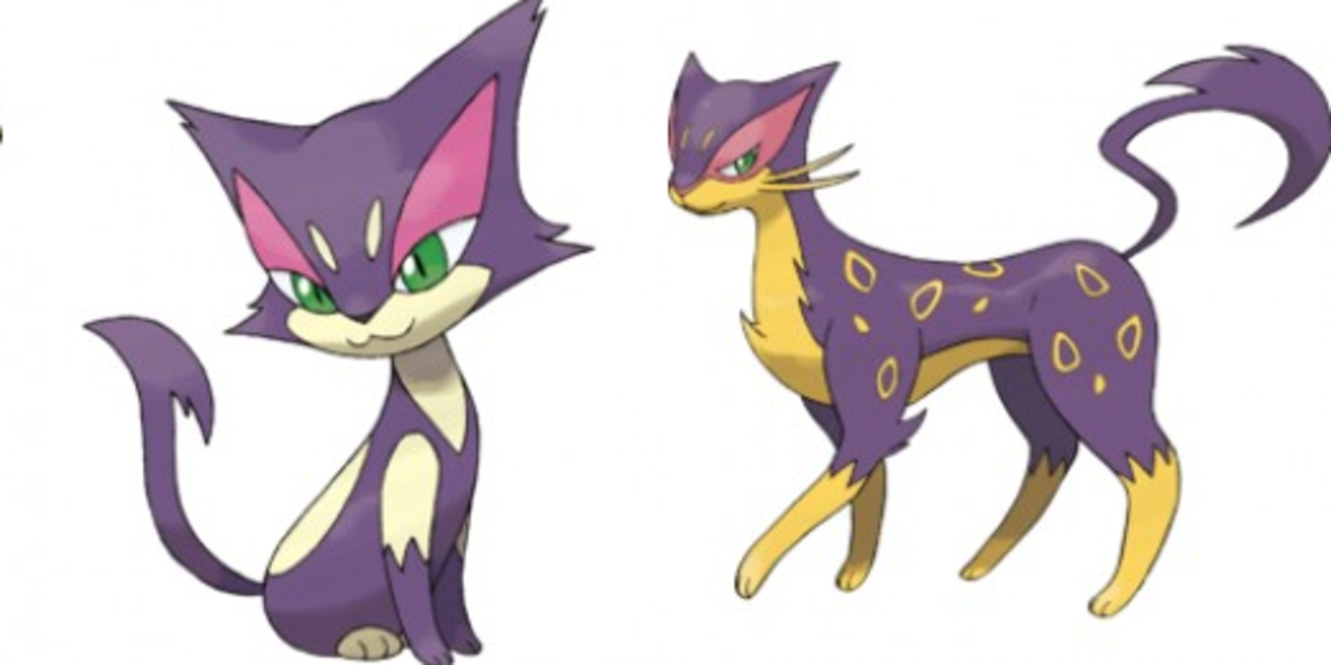 The Cats of the Pokémon Series | LevelSkip
