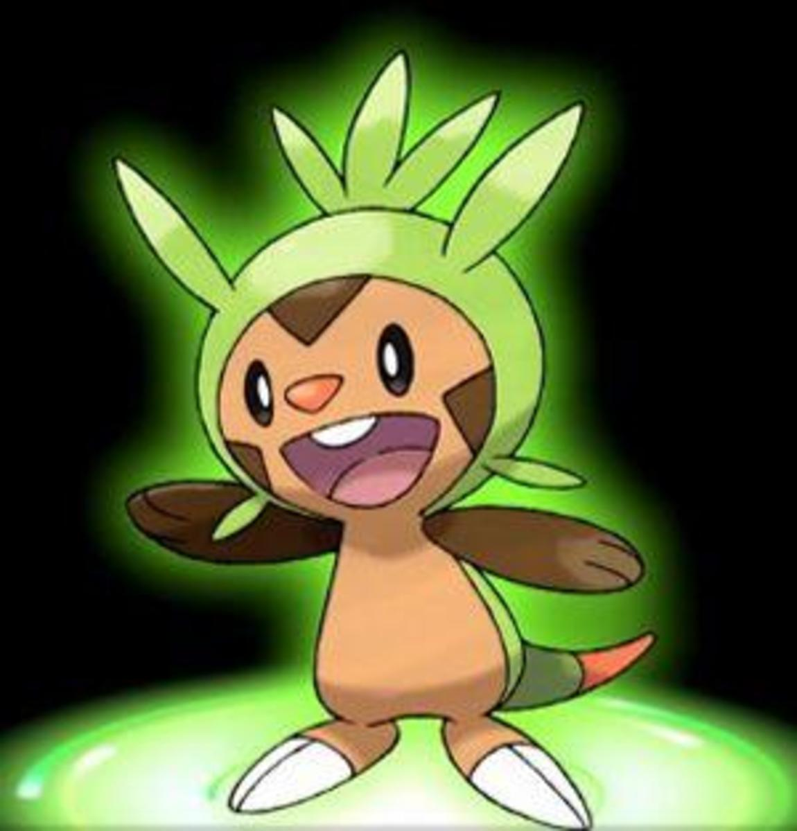 The Grass type Starter, Chespin