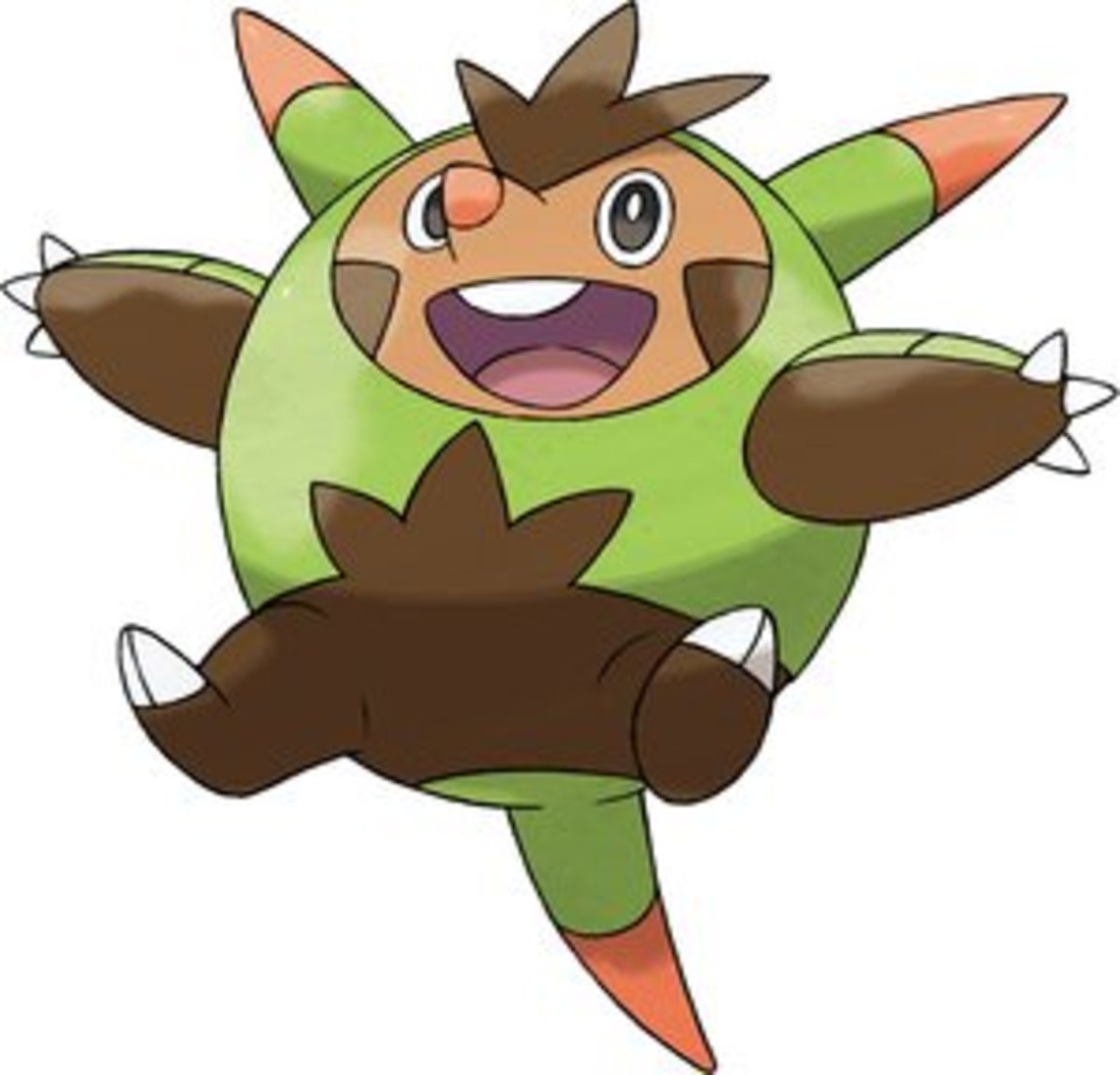 The Grass type Starter, Quilladin