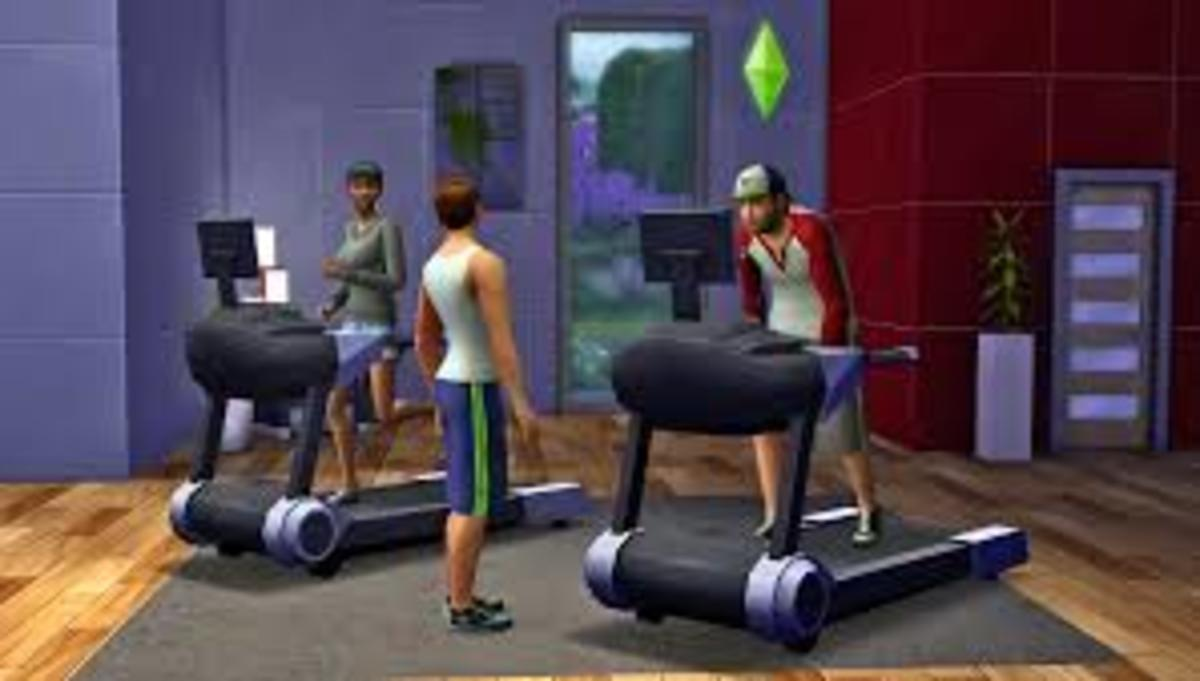 The gym is one of the required facilities for the hotel.