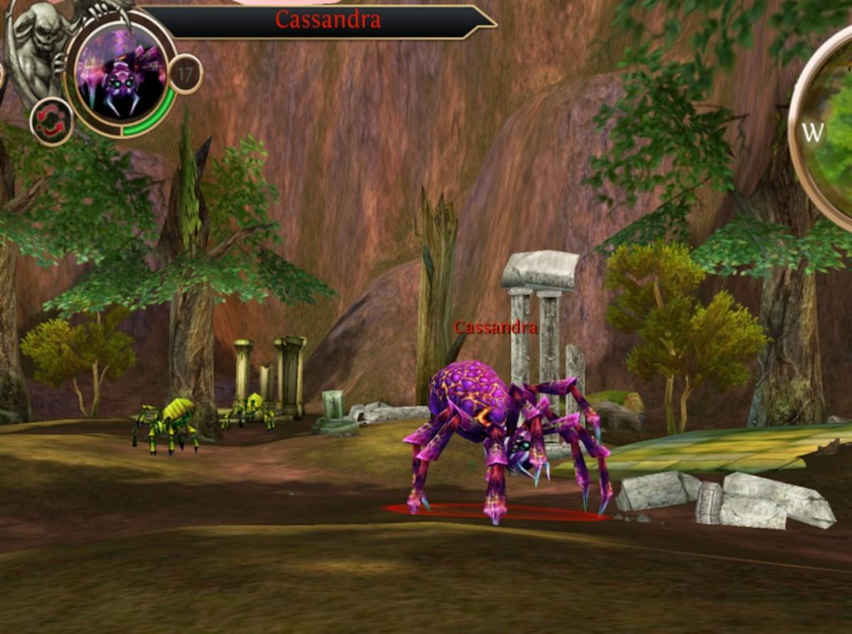 Cassandra, a quest Rare Blood Achievement enemy.