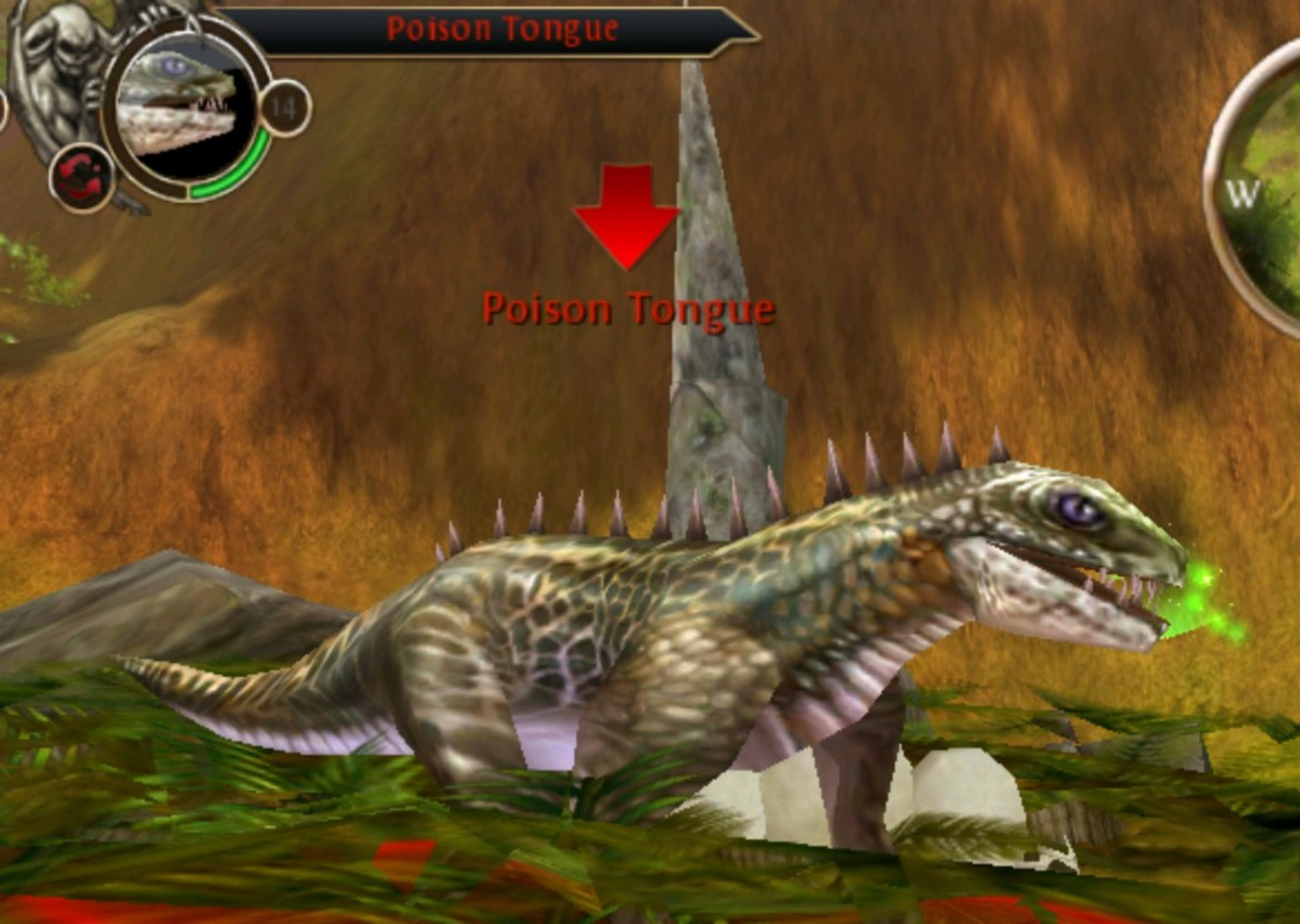 Poison tongue picture on OAC, head for the hills!