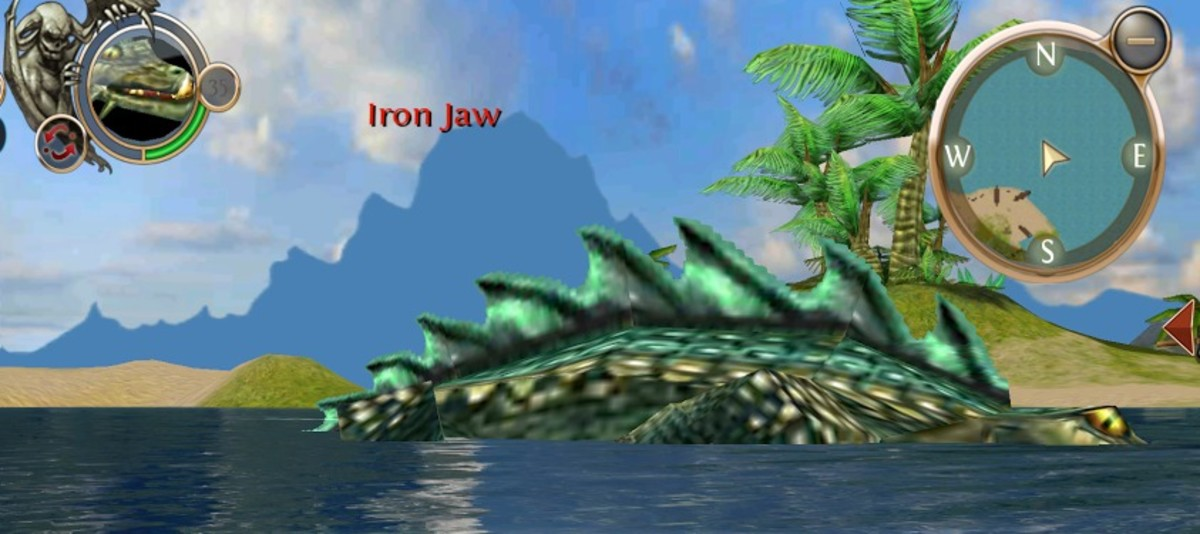 Iron Jaw, Whispering Islands Rare Blood.
