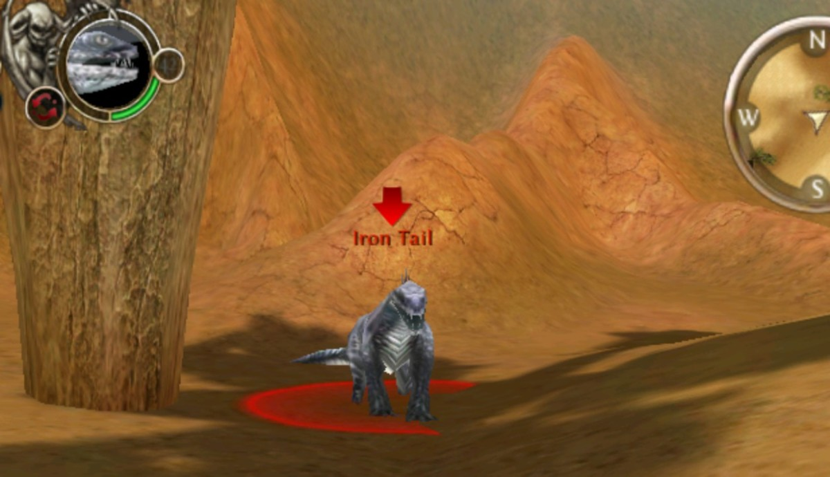 Iron Tail is usually found snoozing under one of the rare trees in The Great Desert.