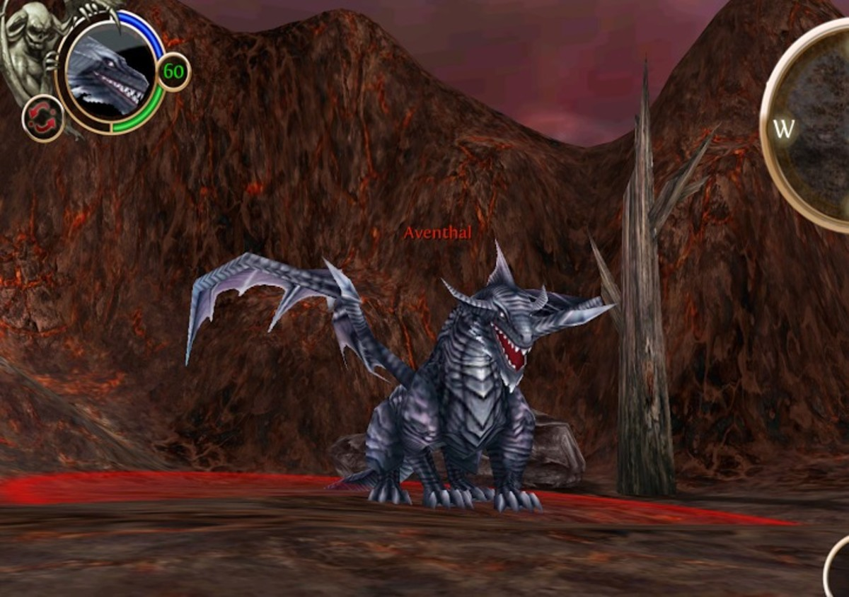 Aventhal the dragon!