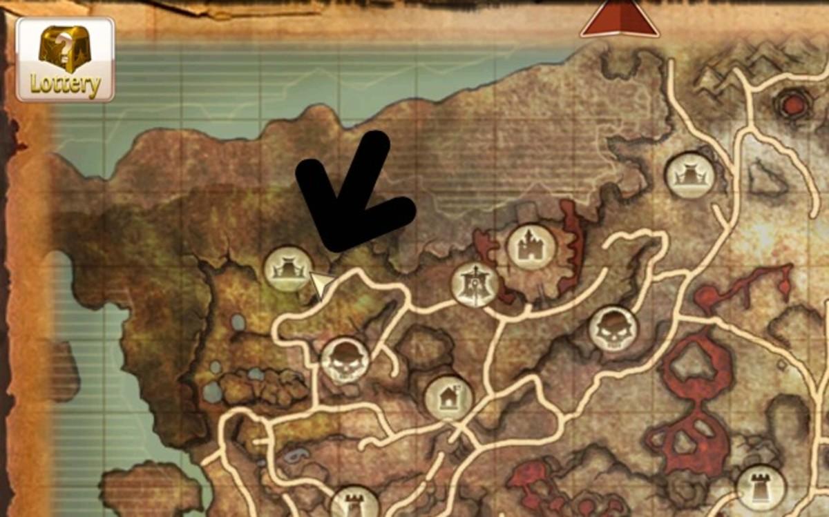 The Elemental King Location in Skinskaald Rift.