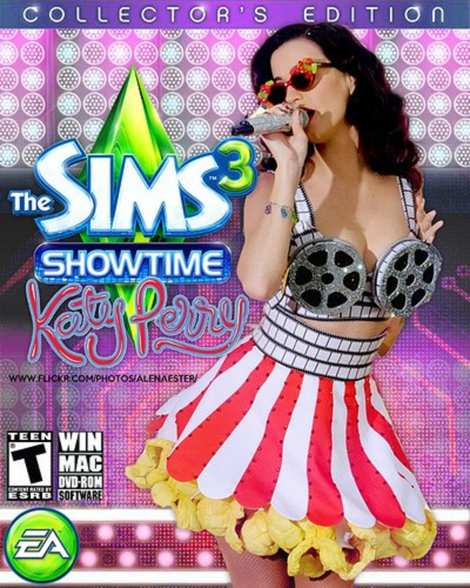 """The Sims 3 Showtime"" - Katy Perry Edition"