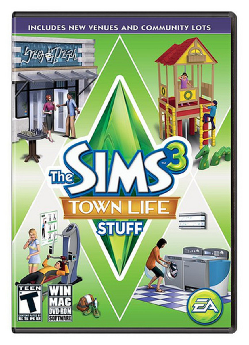 """The Sims 3: Town Life Stuff"""