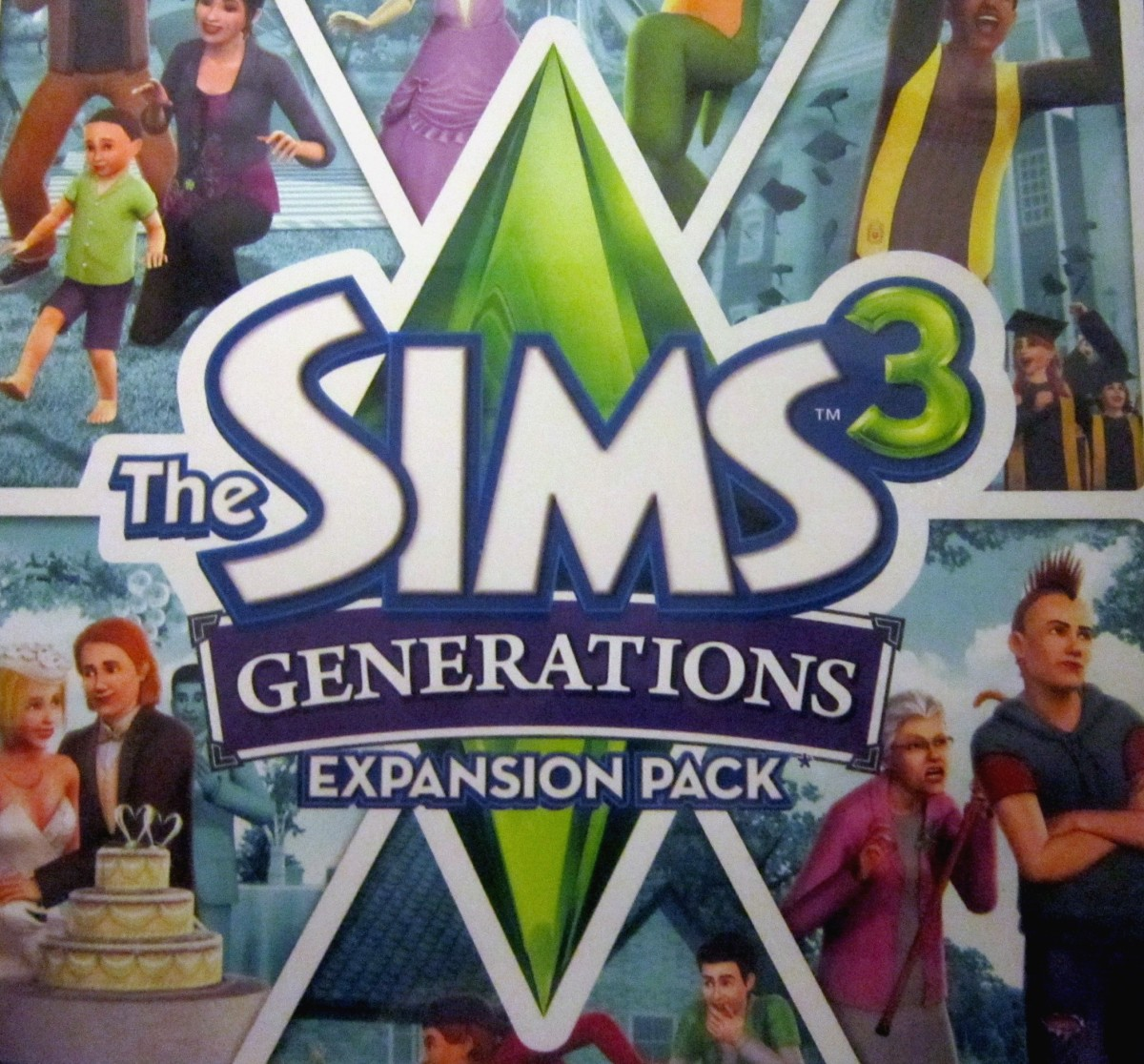 """The Sims 3 Generations Expansion Pack"""