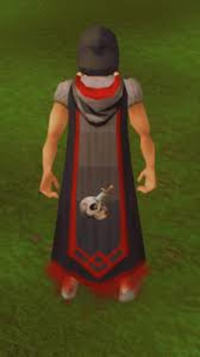 This cape can be purchased after achieving 120 Slayer.
