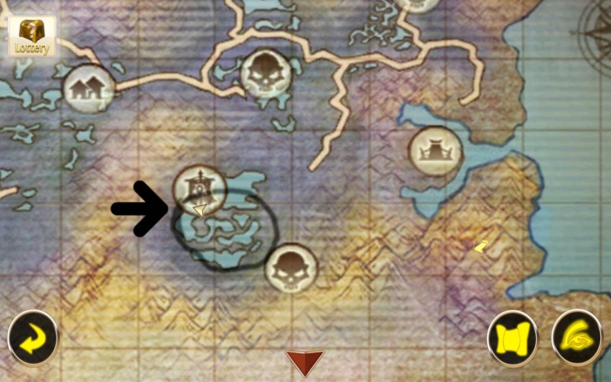 Eye of the Swamp Mount Location in Swamp of Wyrms