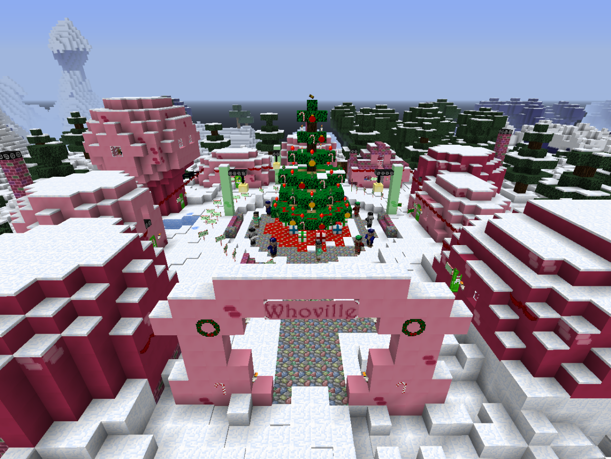 Christmas Minecraft World.Top 5 Christmas Themed Minecraft Maps Levelskip