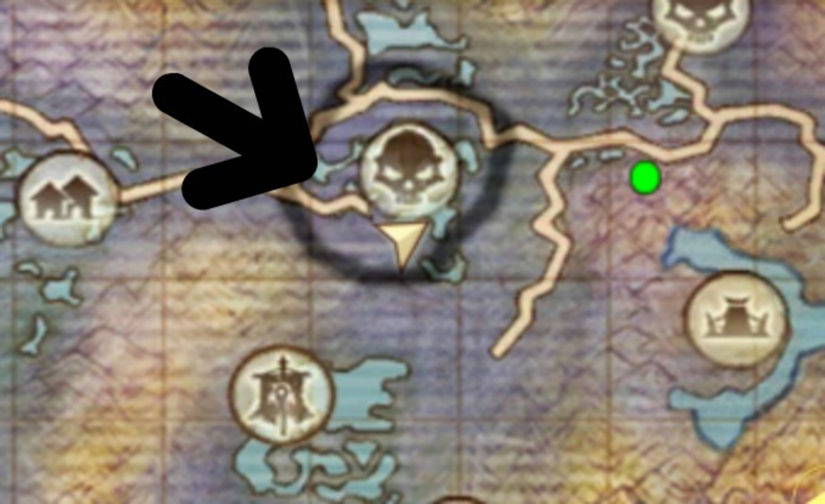 Akan's Field Mount Location in Order and Chaos