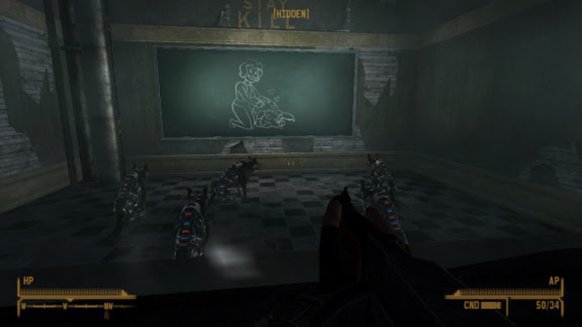 Don't like straight FPS games? How about an RPG with guns?