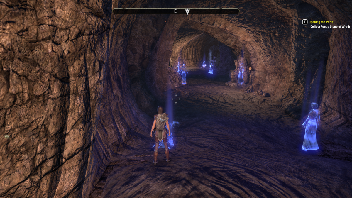 Solving a strange, spiritual puzzle during a trial while Opening the Portal in The Elder Scrolls Online.