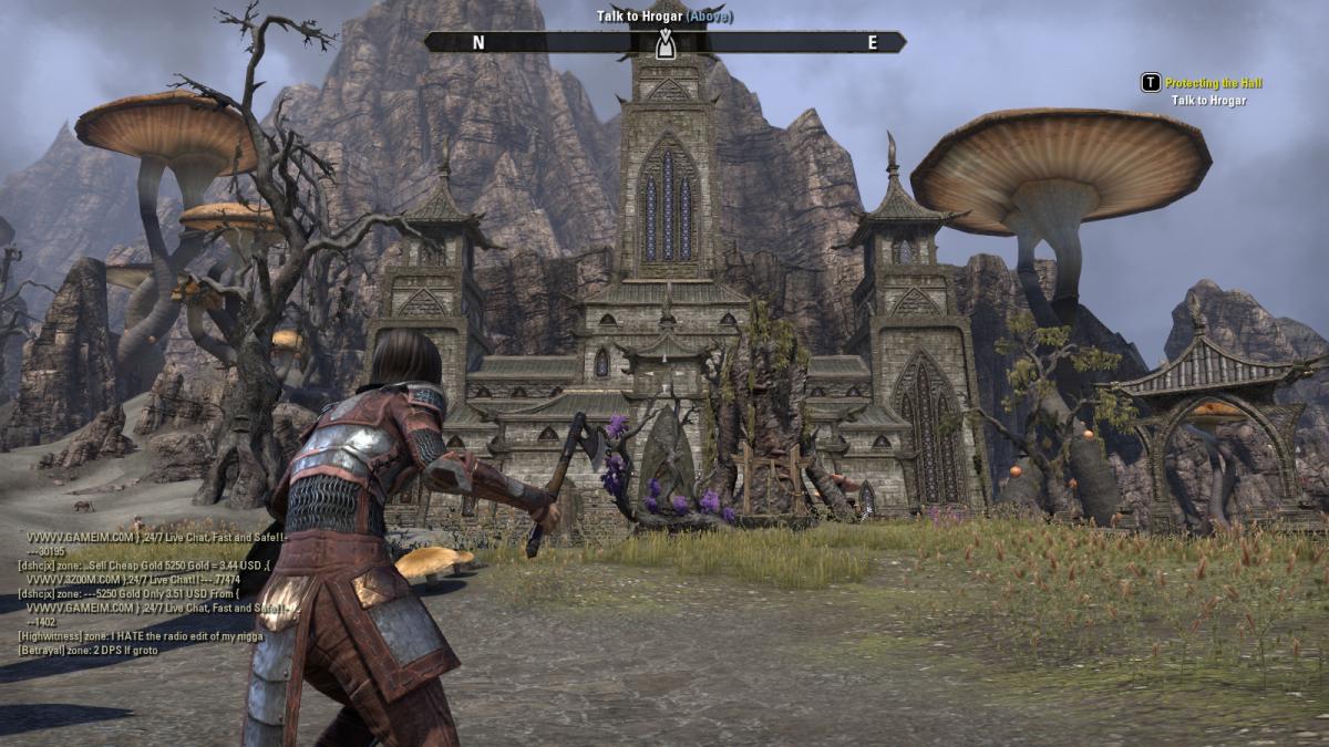 Hrogar's Hold, the home of the Kinsman's Revenge quest in The Elder Scrolls Online.