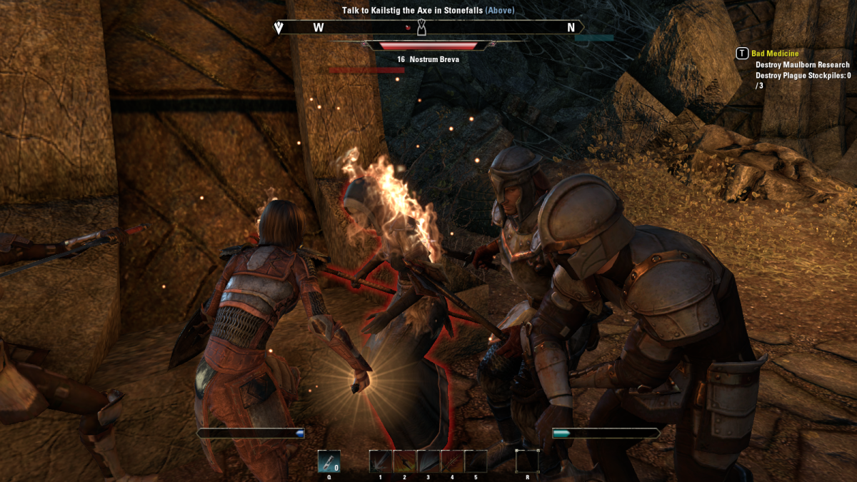 Taking on Nostrum Breva, the sick mastermind behind the events of Mad Medicine in The Elder Scrolls Online.