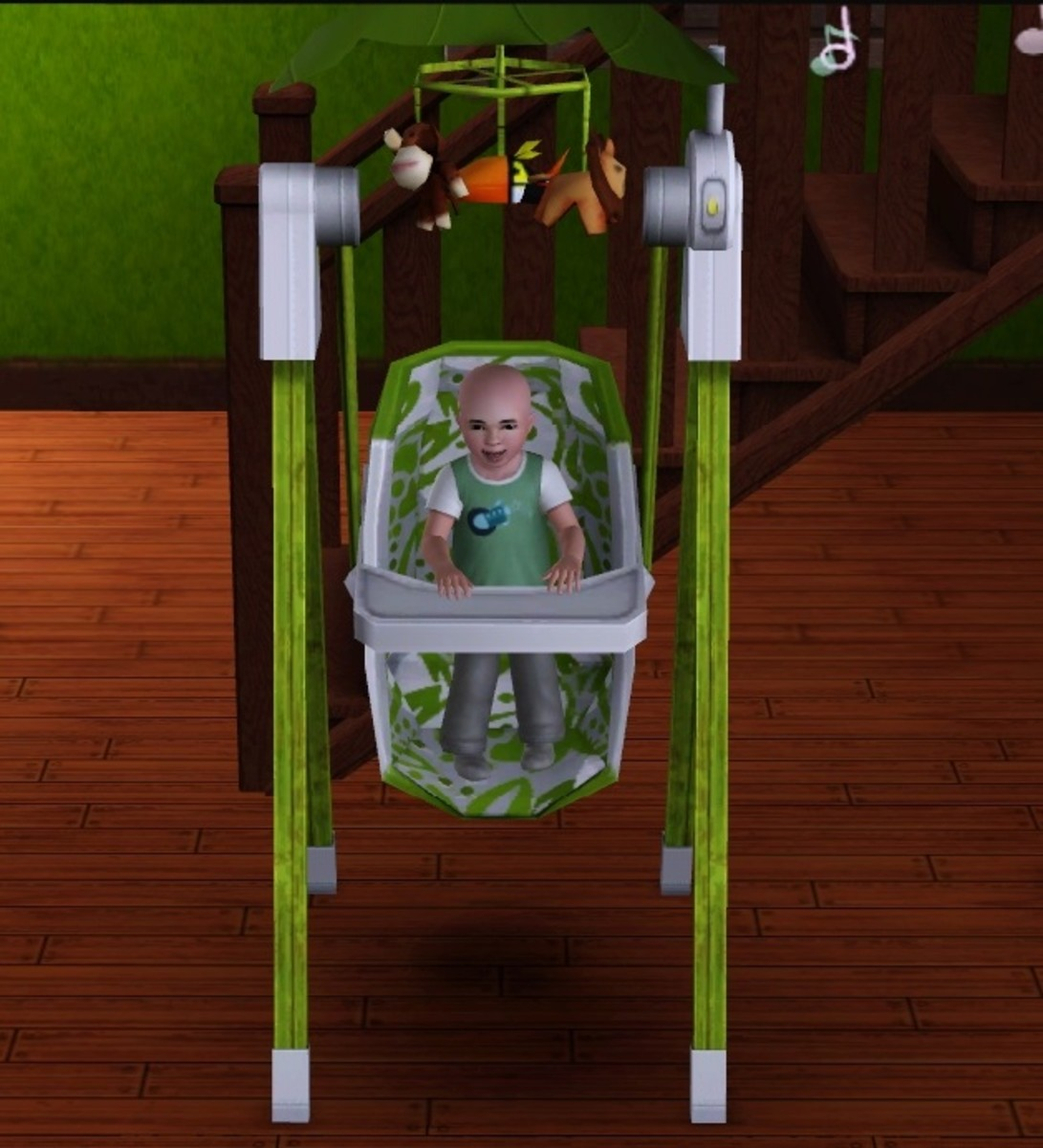 The Sims 3 Baby Swing