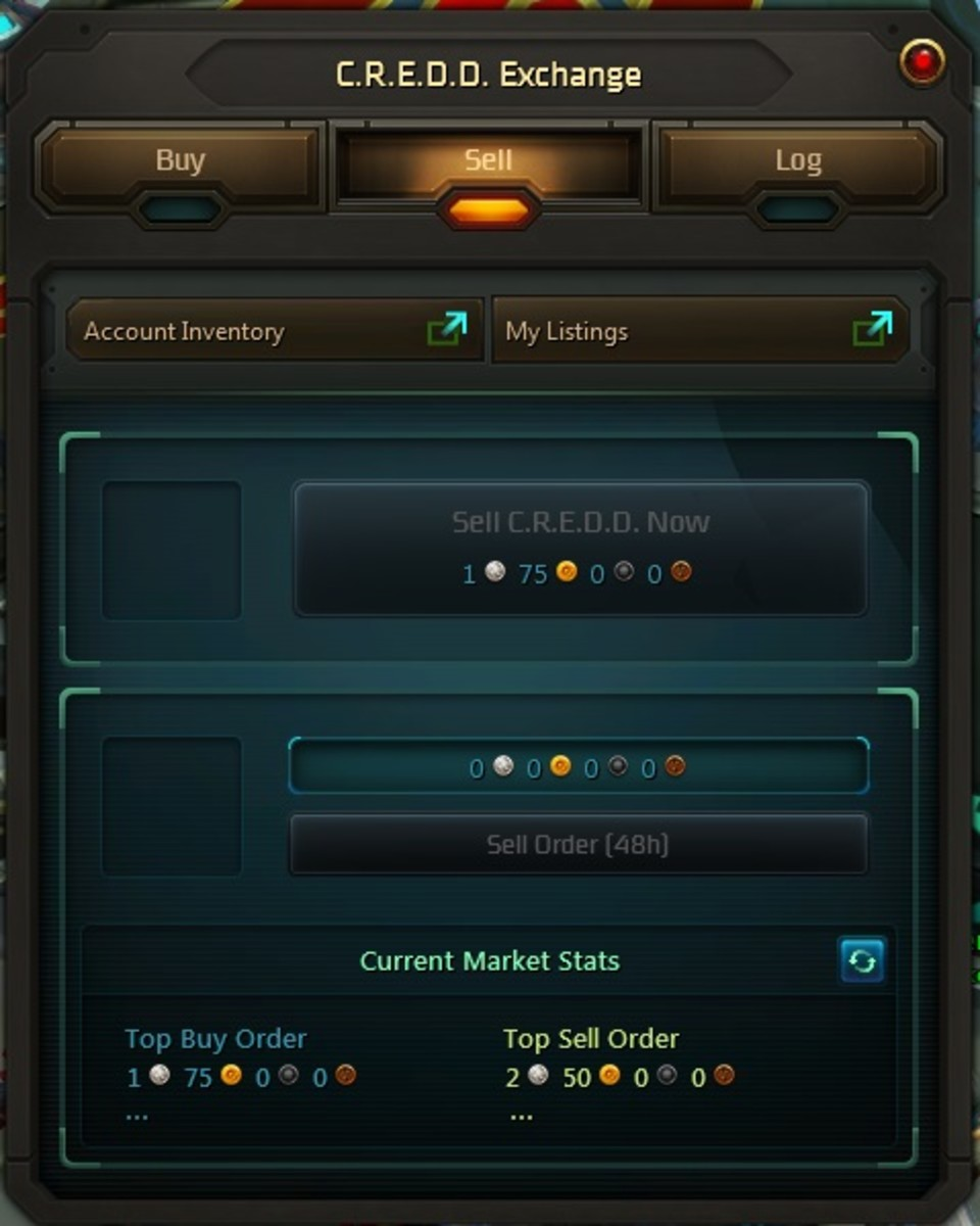 CREDD involves buying in-game time using real money or in-game currency.  Very risky.