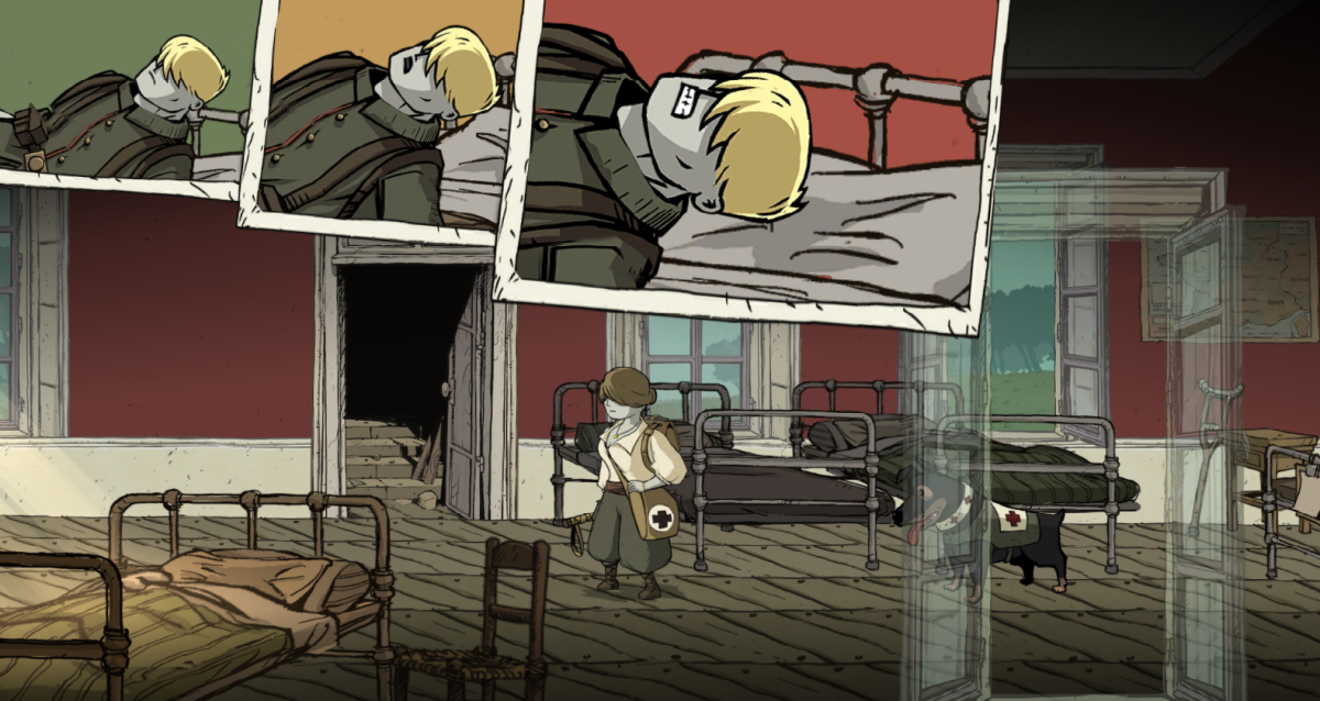 Freddie struggles to live while Anna looks for medical equipment in Valiant Hearts.